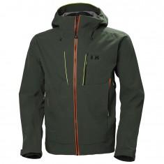 Helly Hansen Alpha shell jacket, men, charcoal
