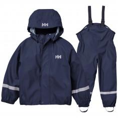 Helly Hansen Bergen PU, rain set, kids, navy