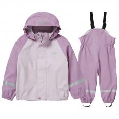 Helly Hansen Bergen PU, rain set, kids, pink ash