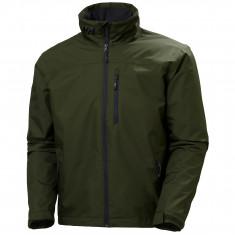 Helly Hansen Crew Midlayer Jacket, Herre, Forest Night