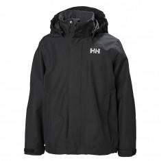 Helly Hansen JR Seven J Rain Jacket, black