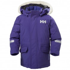 Helly Hansen K Isfjord Down Parka, purple