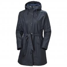 Helly Hansen Kirkwall II Raincoat, women, navy