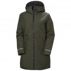 Helly Hansen Lisburn Ins, rain jacket, women, utility green