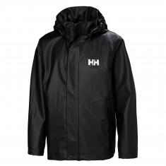 Helly Hansen Moss, rain jacket, junior, black