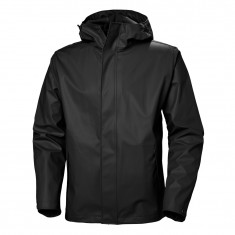 Helly Hansen Moss rain Jacket, men, black
