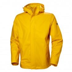 Helly Hansen Moss, rain jacket, men, yellow