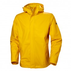 Helly Hansen Moss Regnjakke, Herre, Essential Yellow