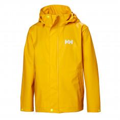 Helly Hansen Moss Regnjakke, Junior, Essential Yellow