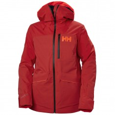 Helly Hansen Powchaser Lifaloft ski jacket, women, alert red