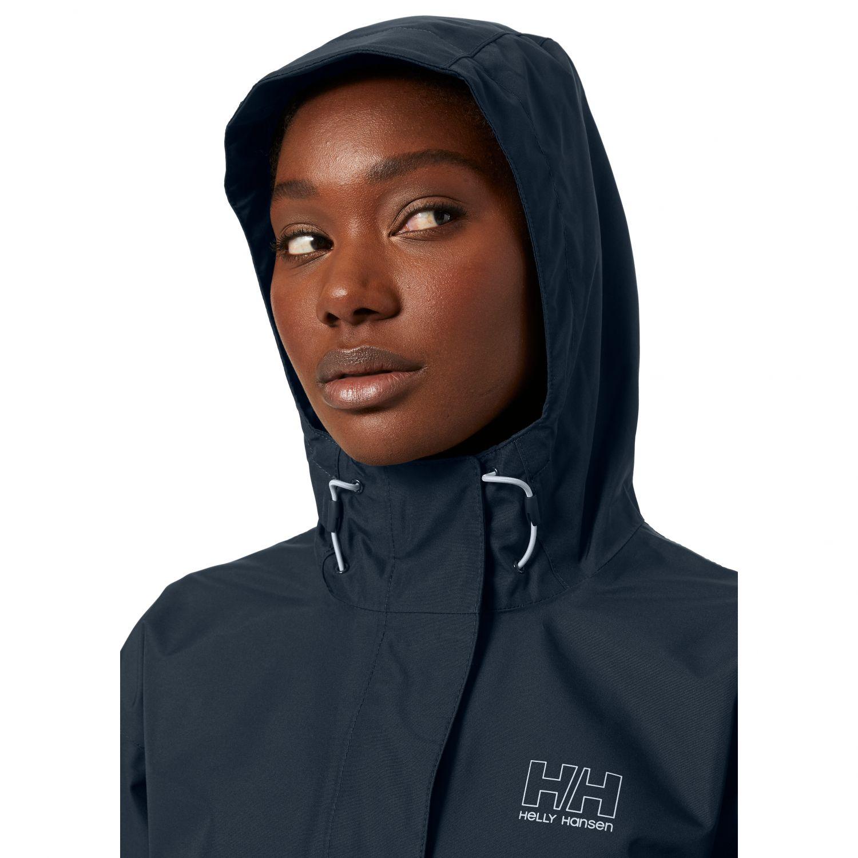 Helly Hansen Seven J rain jacket, women, navy