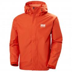 Helly Hansen Seven J Regnjakke, Herre, Patrol Orange