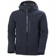 Helly Hansen Swift 3L, shell jacket, men, navy