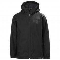 Helly Hansen Urban rain jacket, junior, black