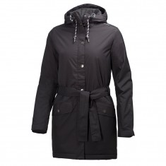 Helly Hansen W Lyness Insulated Coat, dame, sort