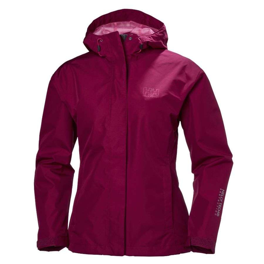 Helly Hansen Seven J Rain Jacket, plum