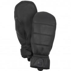 Hestra Alpine Leather Primaloft Skivotter, Black