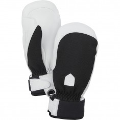 Hestra Army Leather Patrol ski mitten, women, black