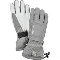 Hestra CZone Powder ski gloves, women, grey