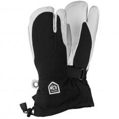 Hestra Heli Ski, 3-finger ski gloves, women, black