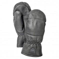 Hestra Leather Box mitt, black