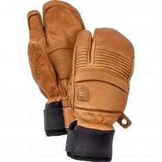 Hestra Leather Fall Line 3-finger Skihansker, Kork