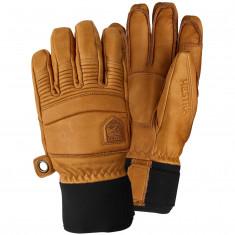 Hestra Leather Fall Line ski gloves, kork