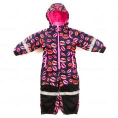 Hulabalu Kiss Snowsuit, Black