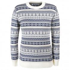 Kama Alba, Merino Sweater, Dame, Off White