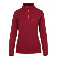 Kilpi Almagre-W, womens fleece jacket, dark red