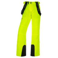 Kilpi Elare-W, womens ski pants, yellow
