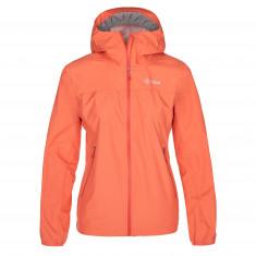 Kilpi Hurricane rain jacket, women, coral