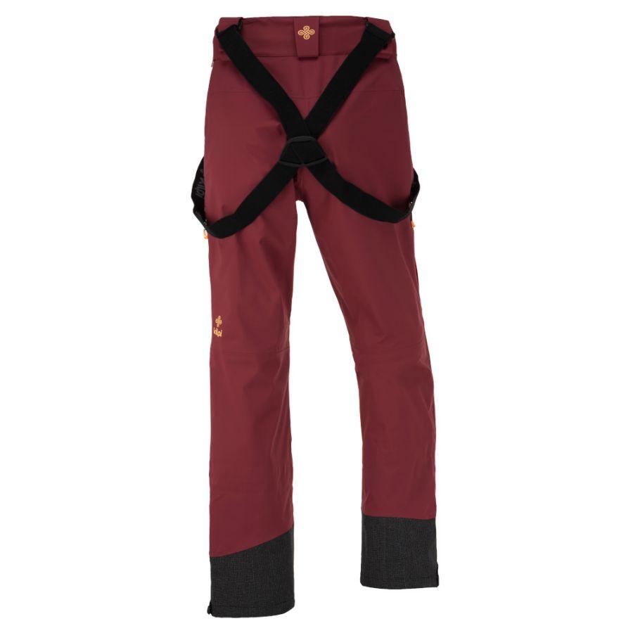 Kilpi Keku, hardshell pants, women, dark red