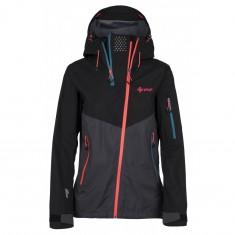 Kilpi Metrix, hardshell jacket, women, grey/black