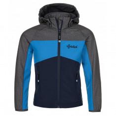 Kilpi Milo, softshell jakke, junior, mørkeblå