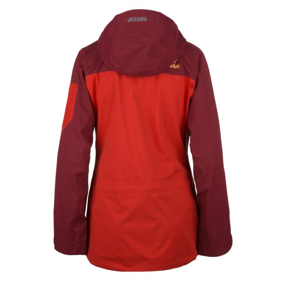 Kilpi Nalau hardshell jacket, women, red