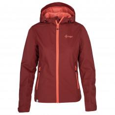 Kilpi Orleti, rain jacket, plus size, women, red