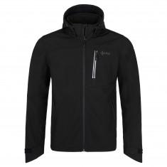Kilpi Ravia, softshell jacket, plus size, men, black
