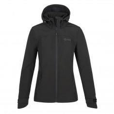 Kilpi Ravia, softshell jacket, plus size, women, black