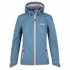 Kilpi Ravia, softshell jacket, plus size, women, blue
