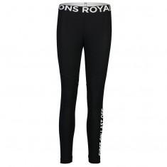Mons Royale Christy Legging, Ullongs, Dame, Black