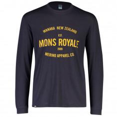 Mons Royale Icon LS, herre, 9 iron