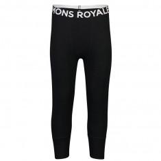 Mons Royale Shaun Off 3/4 Legging, Ullongs, Herre, Black