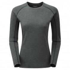 Montane Primino 220 Long Sleeve T-Shirt, Dame, Black