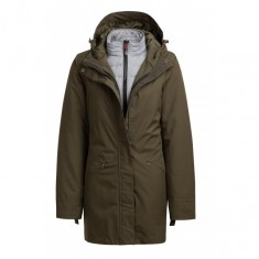 Outhorn Pauline, long jacket, women, khaki