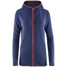 Outhorn Zomfy Hoodie, fleece jacket, women, blue