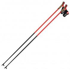 Rossignol Force 7, ski poles, red