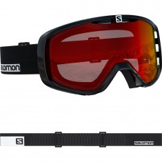 Salomon Aksium, ski goggles, black
