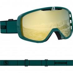 Salomon Aksium, ski goggles, green