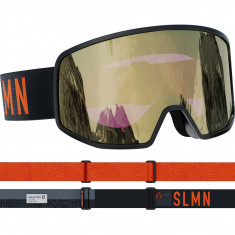 Salomon LO FI Sigma, Skibriller, Black/Grey
